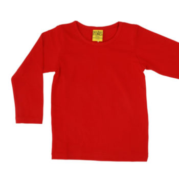 Duns longsleeve (iets donkerder rood) rood