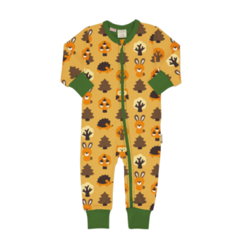Maxomorra rompersuit Yellow Forest